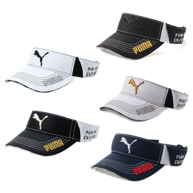 購入後レビュー記入でクーポンプレゼント中 プーマ ゴルフ 人気海外一番 サンバイザー メンズ バイザー PUMA 866567 ツアーラウンド 日本メーカー新品