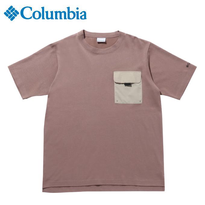 ※ラッピング ※ 購入後レビュー記入でクーポンプレゼント中 永遠の定番モデル コロンビア Tシャツ 半袖 メンズ 260 Columbia PM0072 ツキャノンアイルショートスリーブクルー