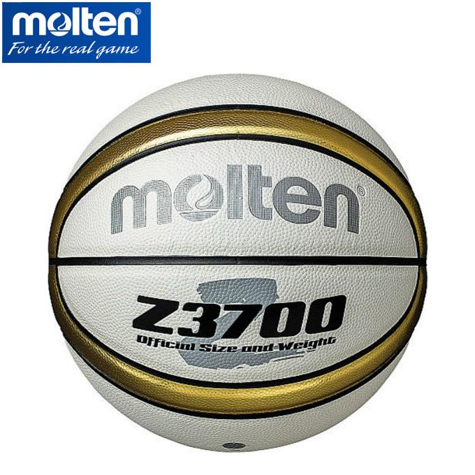 購入後レビュー記入でクーポンプレゼント中 モルテン molten バスケットボール B5Z3700-WZ 正規認証品!新規格 人口皮革 激安価格と即納で通信販売 Z3700 5号球