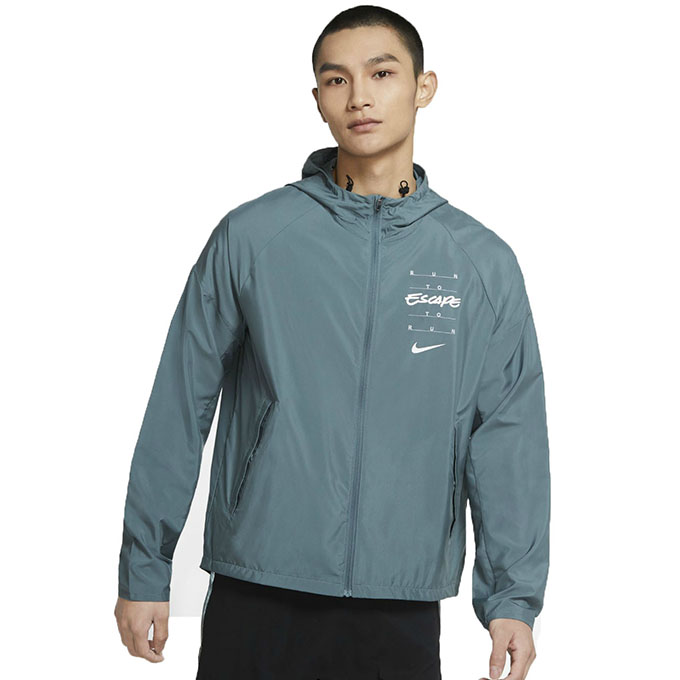 【購入後レビュー記入でクーポンプレゼント中】 ナイキ ウインドブレーカー ジャケット メンズ Essential Wild Run DA1167-387 NIKE