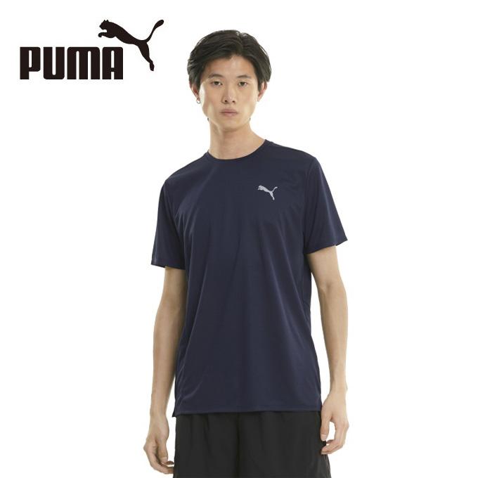 新入荷 流行 購入後レビュー記入でクーポンプレゼント中 プーマ ランニングウェア Tシャツ 半袖 ワンポイントTシャツ メンズ 開催中 520620 06 PUMA