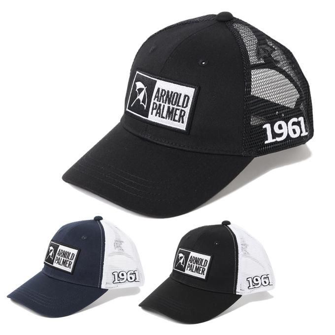 購入後レビュー記入でクーポンプレゼント中 超目玉 アーノルドパーマー arnold palmer ゴルフ キャップ ボックスロゴメッシュ 授与 メンズ APCP-14H