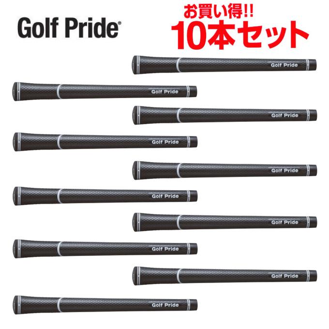ゴルフプライド Golf Prideゴルフ メンズツアーベルベット スーパータック スタンダード クラブ用グリップお買い得10点セットVSTS