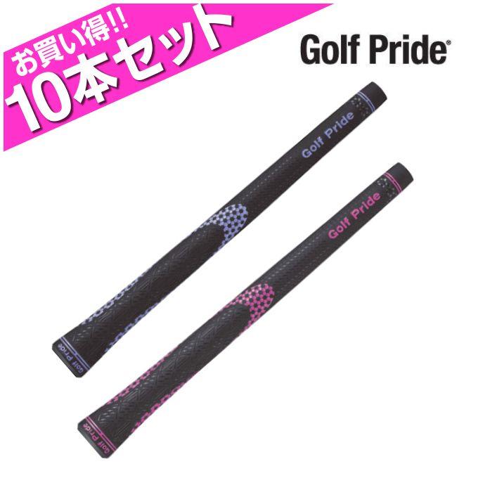 ゴルフプライド Golf Prideゴルフ レディースブラックニオン レディー クラブ用グリップお買い得10点セットBFRC