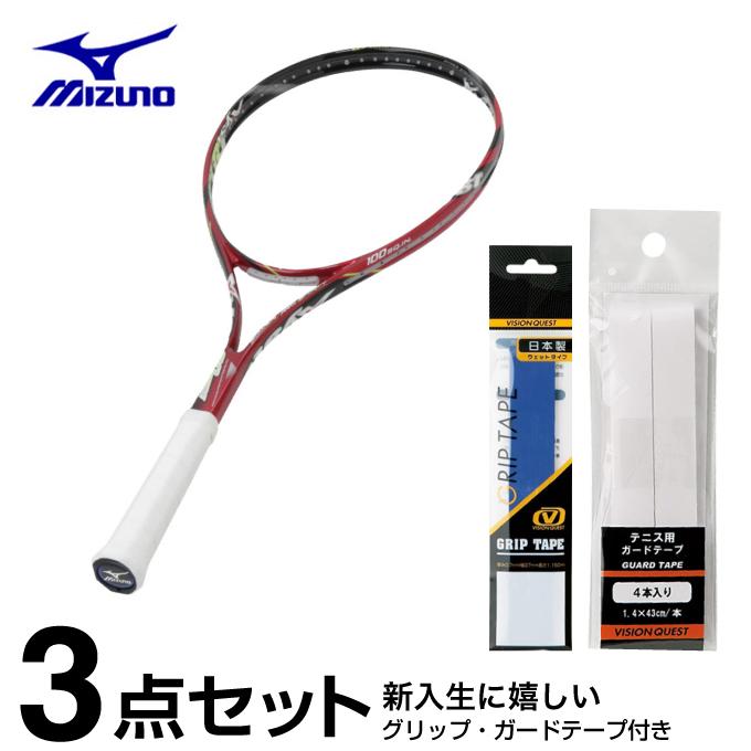 ミズノ ソフトテニスラケット オールラウンド ジスト Xyst 80ワイド 63JTN59062 mizuno