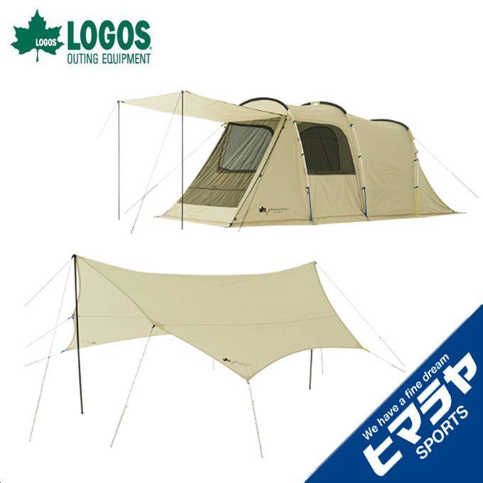 ロゴス LOGOS テント 大型テント グランベーシック トンネルドーム XL-AG + BIGオクタゴン-AG 【お買い得セット】 R11AG005