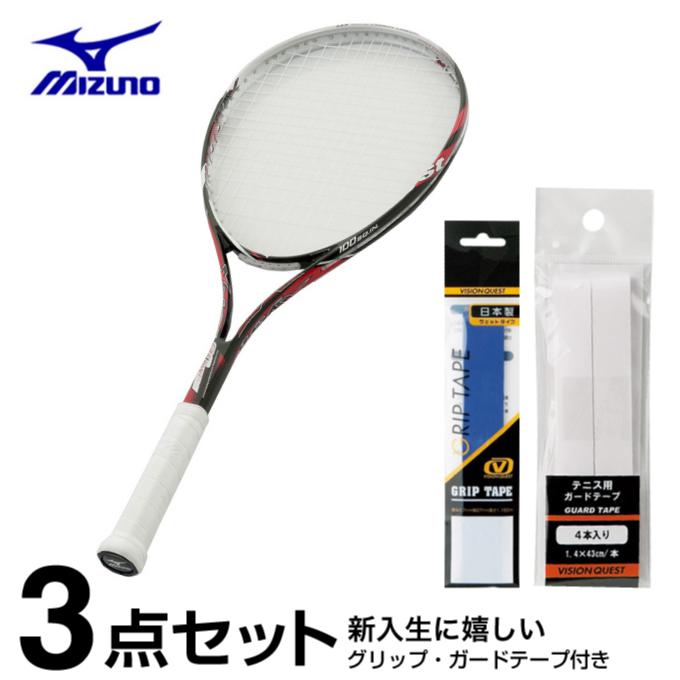 ミズノ ソフトテニスラケット オールラウンド ジスト Xyst 80ワイド 63JTN59060 mizuno
