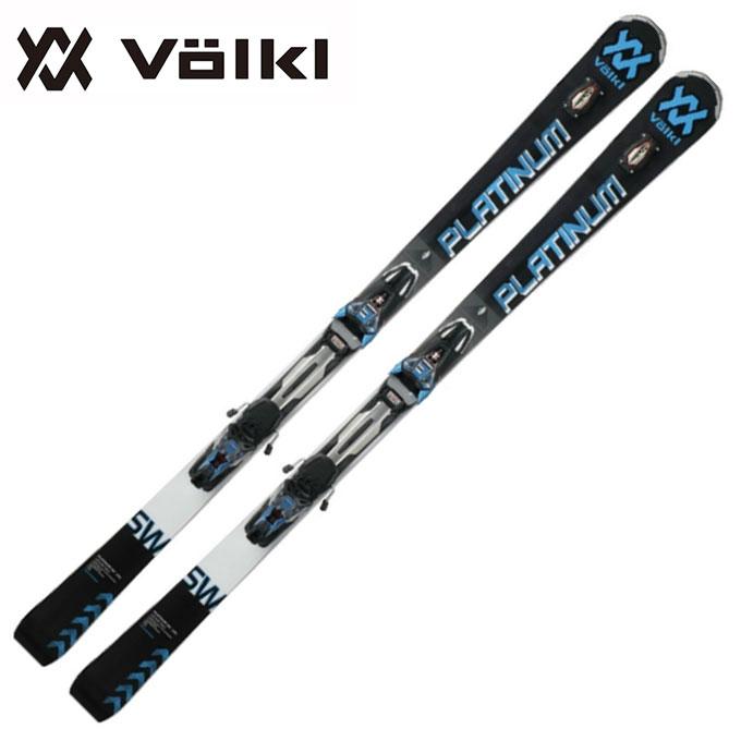 【ポイント3倍 10/11 8:59まで】 フォルクル Volkl メンズ レディース スキー板セット 金具付 PLATINUM SW+ r-MOTION2 12.0D 【取付無料】