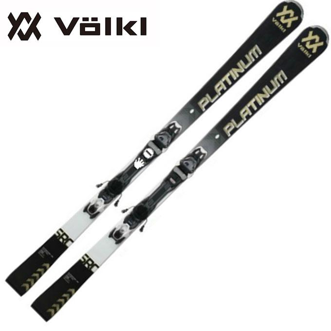 フォルクル Volkl メンズ レディース スキー板セット 金具付 PLATINUM SRC 12.0 TCX + V Motion 11GW SRC プラチナム + モーション 【取付無料】