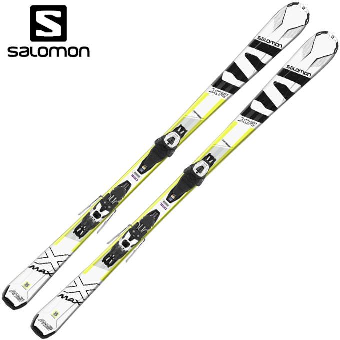 サロモン salomon メンズ レディース スキー板セット 金具付 X-MAX XR + LITHIUM10 エックスマックス + リチウム 399604 【取付無料】