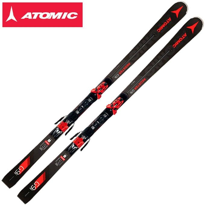 【ポイント3倍 10/11 8:59まで】 アトミック ATOMIC メンズ スキー板セット 金具付 REDSTER G9i + X12TLRS 【取付無料】