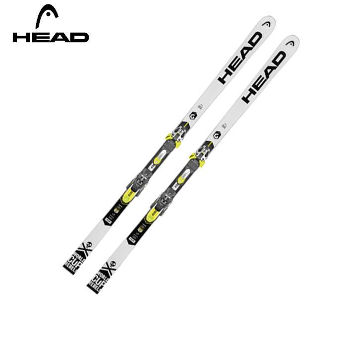 ヘッド HEAD メンズ スキー板セット 金具付 WORLDCUP REBELS i. GS RD+FF EVO18X ワールドカップ+フリーフレックス 【WAX】 【取付無料】