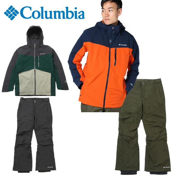 コロンビア Columbia スノーボードウェア 上下セット メンズ SNB JK + SNB PT WE1122 + WE1258
