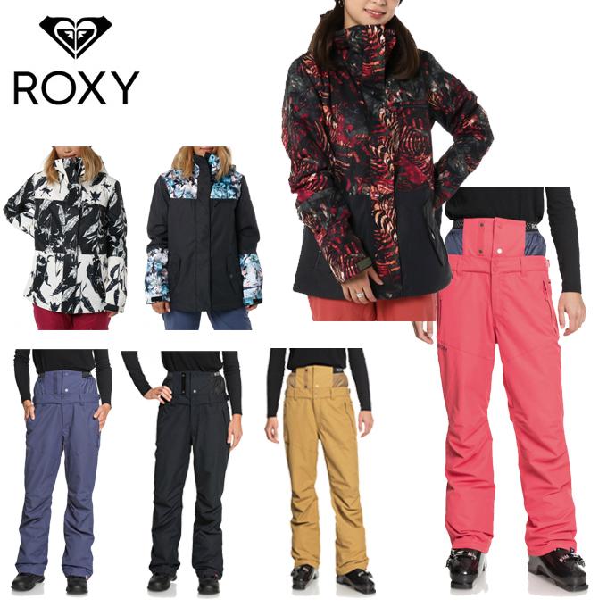 ロキシー ROXY スノーボードウェア 上下セット レディース JETTY BLOCK NP JK + SNOWHOLIC PT ERJTJ03178 + ERJTP03058