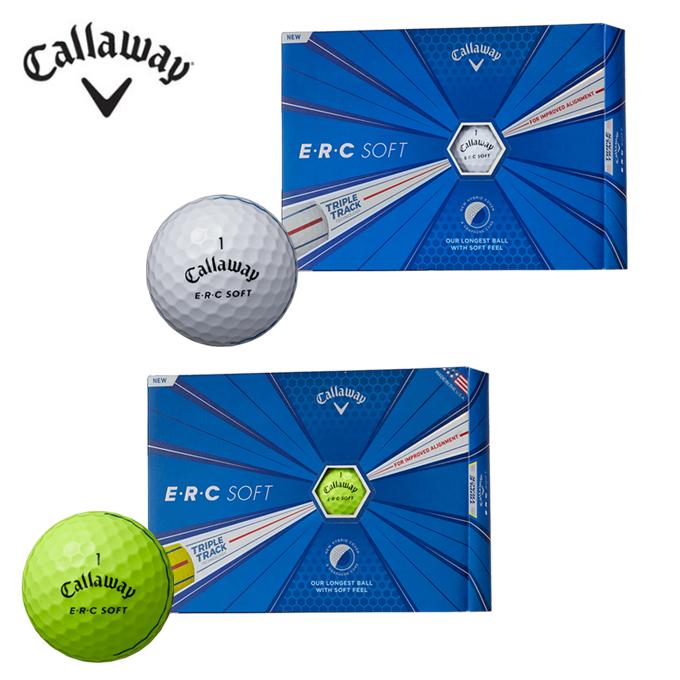 【基本送料無料 12/27 9:59まで】 キャロウェイ Callaway ゴルフボール 1ダース 12個入 E・R・C ソフト ボール