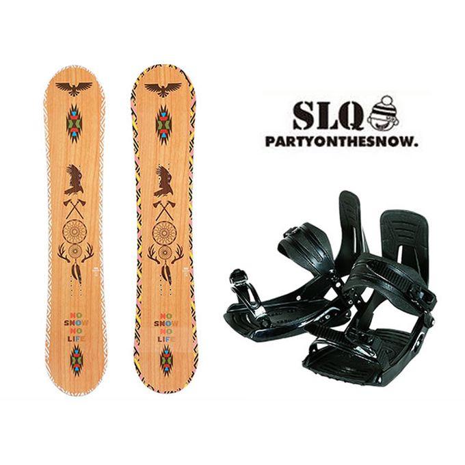 スノーボード 2点セット レディース エスエルキュー SLQ GOODY DC+MP180 ボード+ビンディング