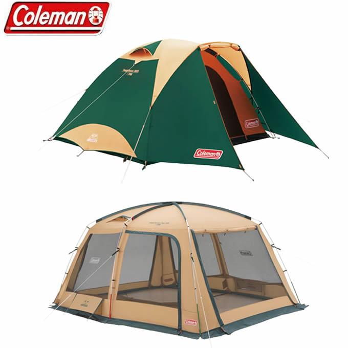 コールマン テント 大型テント スクリーンテント タフドーム/3025 スタートパッケージグリーン+タフスクリーンタープ/400 2000027279+2000031577 Coleman
