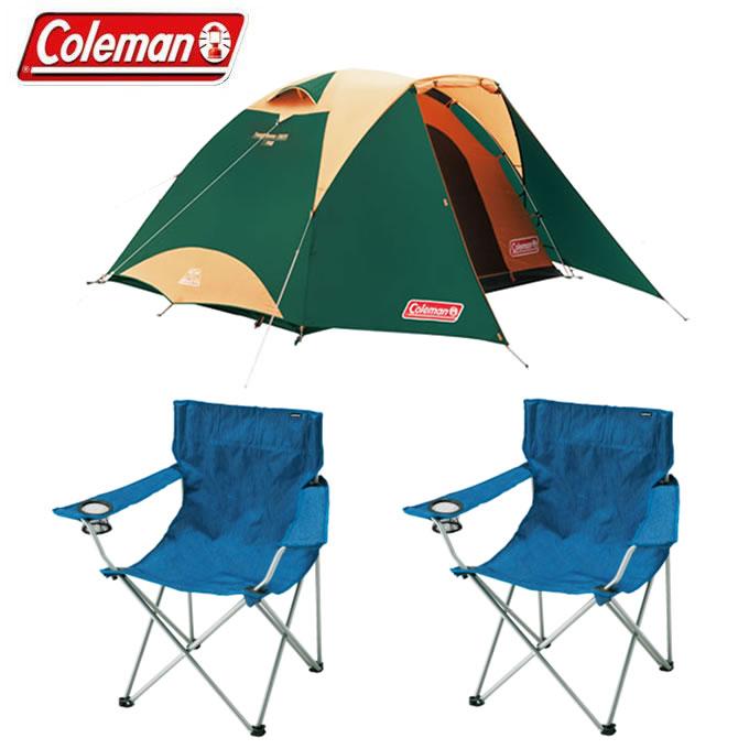 コールマン テント 大型テント アウトドアチェア タフドーム/3025 スタートパッケージグリーン+アームチェア アート 2000027279+VP160405G02 Coleman