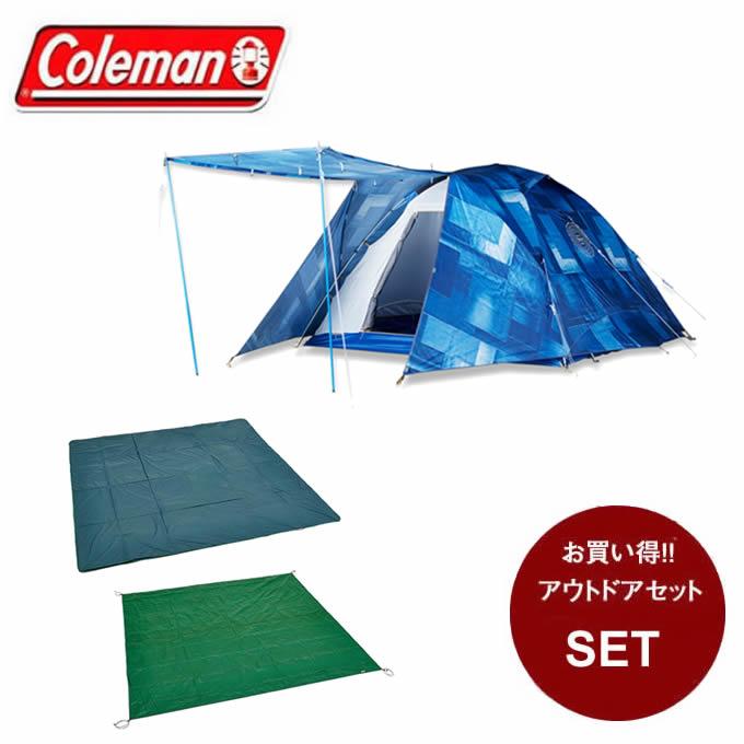 コールマン テントセット 大型テント IL タフワイドドーム?/300 + テントシートセット/300 2000030326 + 2000023539 Coleman