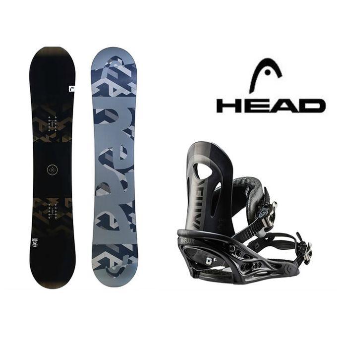 【クーポン利用で1000円引 11/18 23:59まで】 スノーボード 2点セット メンズ ヘッド HEAD FUSION FLOCKA+PR ボード+ビンディング