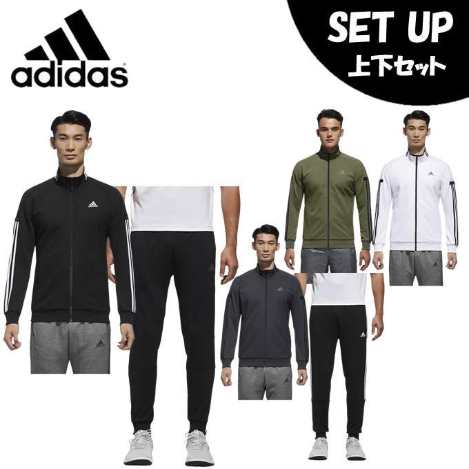 アディダス スポーツウェア上下セット メンズ 24/7 ウォームアップ ジャケット + 24/7 ウォームアップテーパードパンツ FKK26 + FKK25 adidas