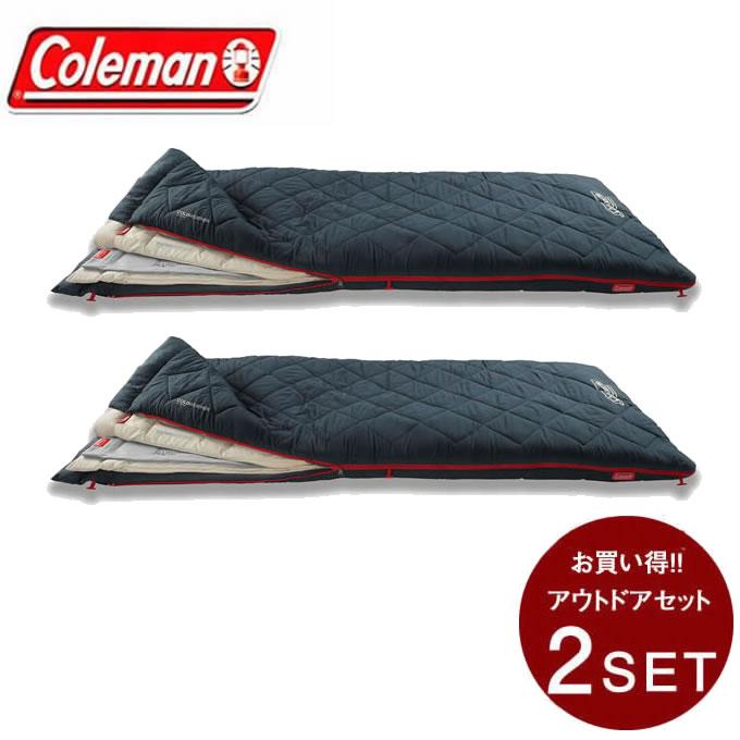 コールマン 封筒型シュラフ マルチレイヤースリーピングバッグ セット 2000034777 Coleman
