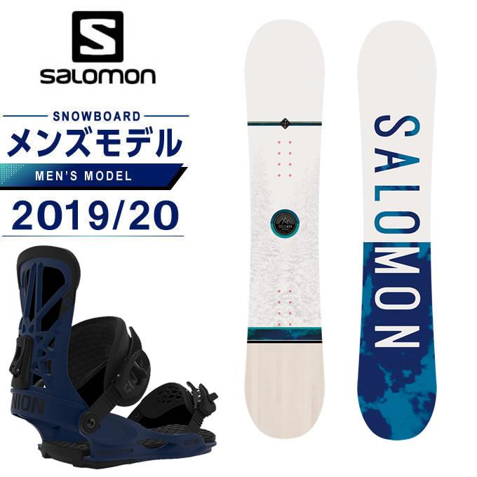 サロモン スノーボード 2点セット メンズ ボード+ビンディング FRONTIER SALOMON + FLITE PRO JPLTD salomon
