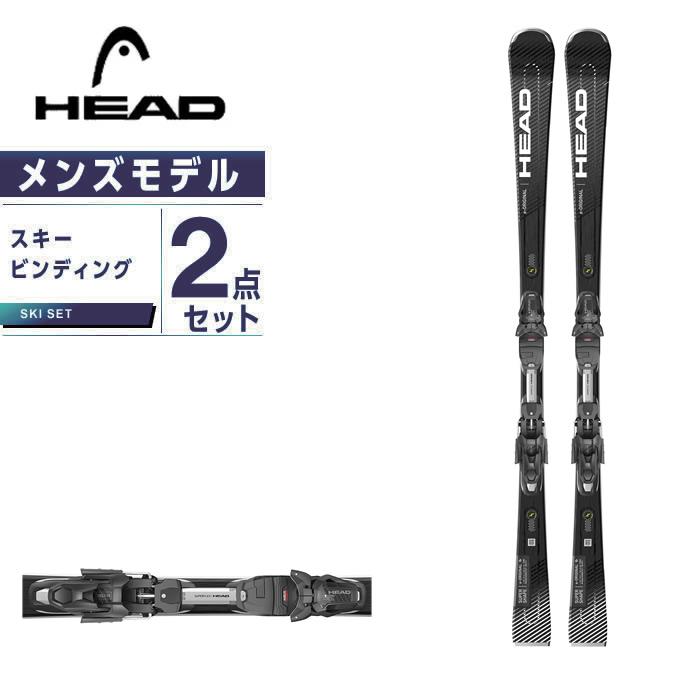 ヘッド HEAD スキー板 オールラウンド 板・金具セット メンズ SUPERSHAPE E-ORIGINAL+PRD12G スキー板+ビンディング