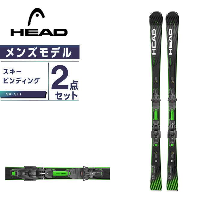ヘッド HEAD スキー板 オールラウンド 板・金具セット メンズ SUPERSHAPE E-MAGNUM +PRD12GW スキー板+ビンディング