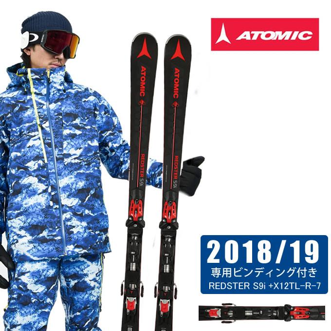 【ポイント3倍 10/4 15:00~10/11 8:59】 アトミック ATOMIC スキー板セット 金具付 メンズ REDSTER S9i + X 12 TL R レッドスター