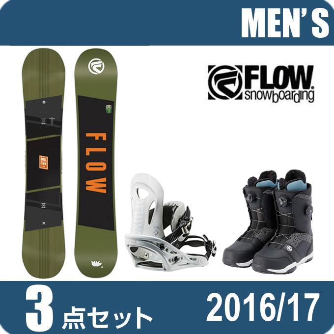 スノーボード 3点セットメンズ レディース フロー FLOW CHILL+PR WH+TRANSIT FOCUS ボード+ビンディング+ブーツ
