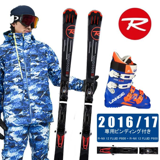 【クーポン利用で1000円引 11/18 23:59まで】 ロシニョール ROSSIGNOLスキー板 3点セット メンズ PURSUIT 800 Ti FLUID + NX 12 FLUID + RS 100 S.C.WIDE スキー板+ビンディング+ブーツ