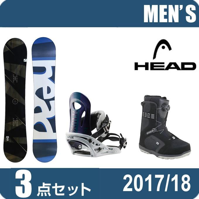 ヘッド HEAD スノーボード 3点セット メンズ WISE FLOCKA+PR NV+SCOUT PRO BOA ボード+ビンディング+ブーツ