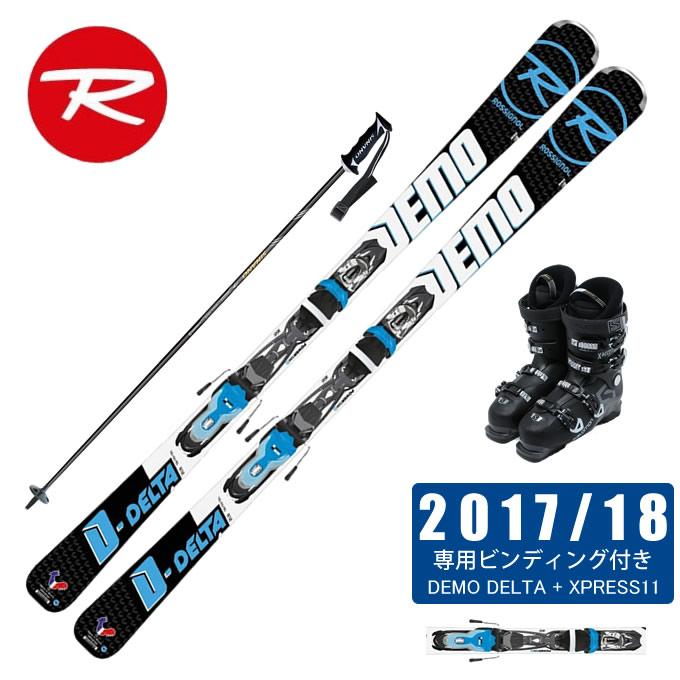ロシニョール ROSSIGNOL スキー板 4点セット メンズ DEMO DELTA +XPRESS11 + X ACCESS 70 WIDE BB + CX-FALCON