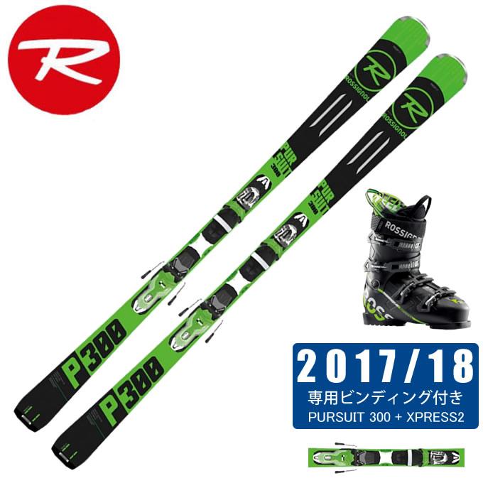 ロシニョール ROSSIGNOL スキー板 3点セット メンズ PURSUIT 300 +XPRESS2 + SPEED 80 スキー板+ビンディング+ブーツ