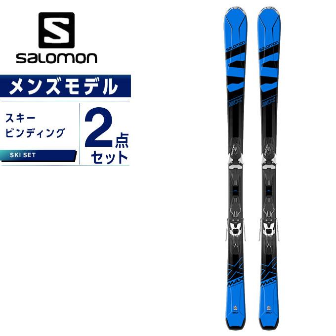 【5/5はクーポンで1000円引&エントリーかつカード利用で5倍】 サロモン スキー板 セット金具付 メンズ スキー板+ビンディング X-MAX SX +MERCURY11-18 salomon