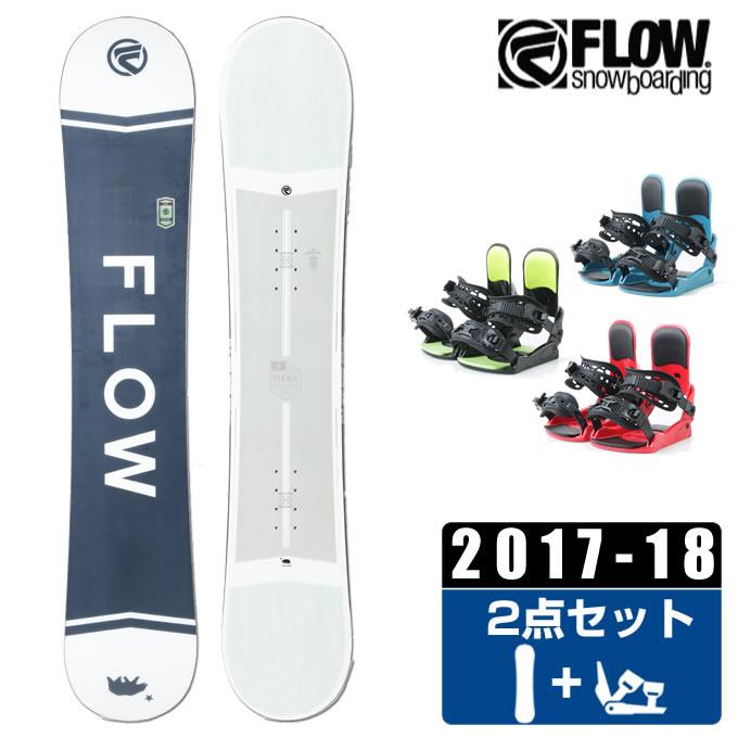 【1/27 20:00~1/28 1:59はクーポン利用で4500円引 】 フロー FLOW スノーボード 2点セット メンズ MERC WHITE + KONNECT
