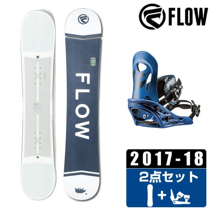 【1/27 20:00~1/28 1:59はクーポン利用で4500円引 】 フロー FLOW スノーボード 2点セット メンズ MERC + PR ボード+ビンディング