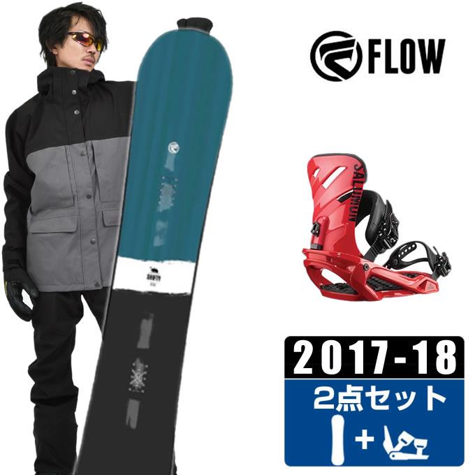【クーポン利用で1000円引 11/18 23:59まで】 フロー FLOW スノーボード 2点セット メンズ SHIFTY BLUE JAPAN LTD + RHYTHM RED ボード+ビンディング