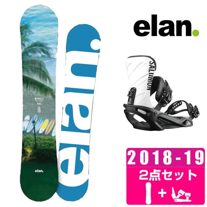 【ポイント3倍 10/4 15:00~10/11 8:59】 エラン ELAN スノーボード 2点セット レディース MAHALO + RHYTHM ボード+ビンディング