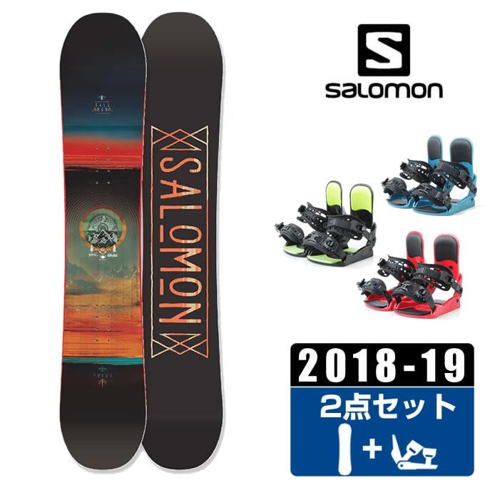 サロモン スノーボード 2点セット メンズ PULSE + KONNECT salomon