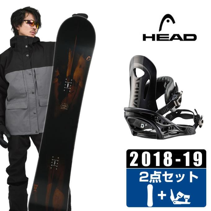 ヘッド HEAD スノーボード 2点セット メンズ FUSION + PR BK ボード+ビンディング