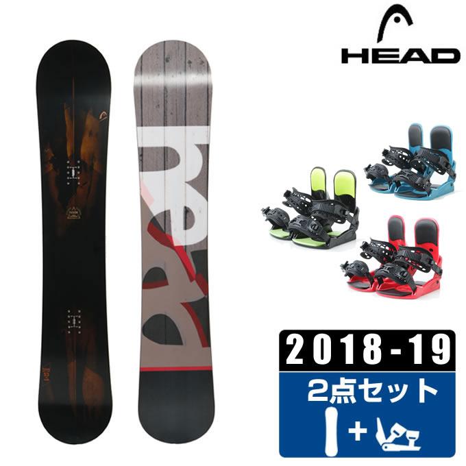 ヘッド HEAD スノーボード 2点セット メンズ FUSION + KONNECT