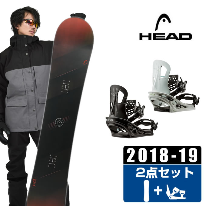 ヘッド HEAD スノーボード 2点セット メンズ WISE + TT ボード+ビンディング