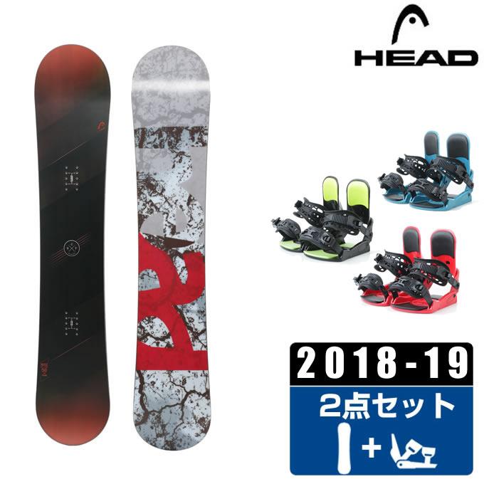 ヘッド HEAD スノーボード 2点セット メンズ WISE + KONNECT