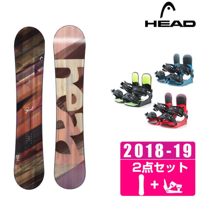 ヘッド HEAD スノーボード 2点セット レディース PEARL + KONNECT