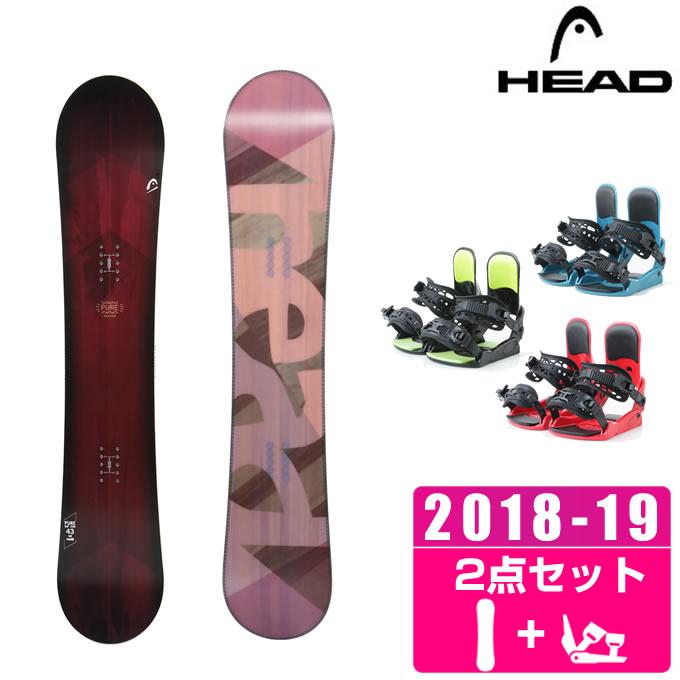 ヘッド HEAD スノーボード 2点セット レディース PURE + KONNECT
