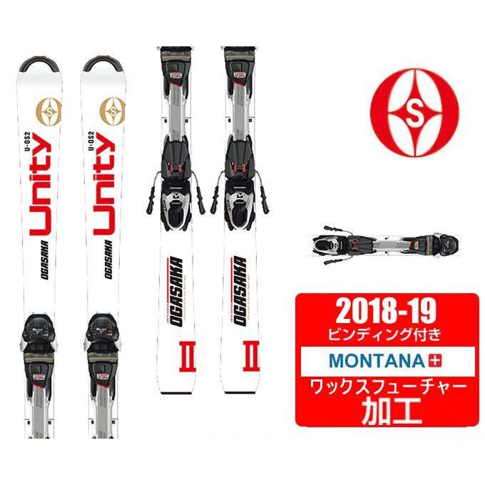 【クーポン利用で1000円引 11/18 23:59まで】 オガサカ OGASAKA スキー板 セット金具付 メンズ UNITY OS/2 WH + FDT TP10 【WAX】