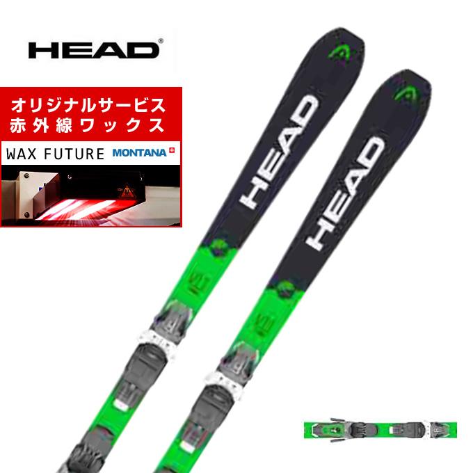 【ポイント3倍 10/4 15:00~10/11 8:59】 ヘッド HEAD スキー板 セット金具付 メンズ V-SHAPE 11 + PR11 GW スキー板+ビンディング