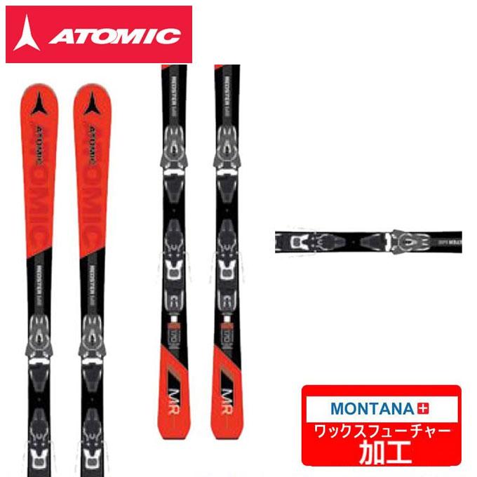 【5/5はクーポンで1000円引&エントリーかつカード利用で5倍】 アトミック ATOMIC スキー板 セット金具付 REDSTER MR + FT11GW-4 AASS01926【WAX】